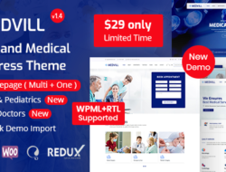 Medvill – Health & Medical WordPress Theme