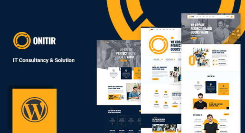 Onitir – IT Solutions WordPress theme