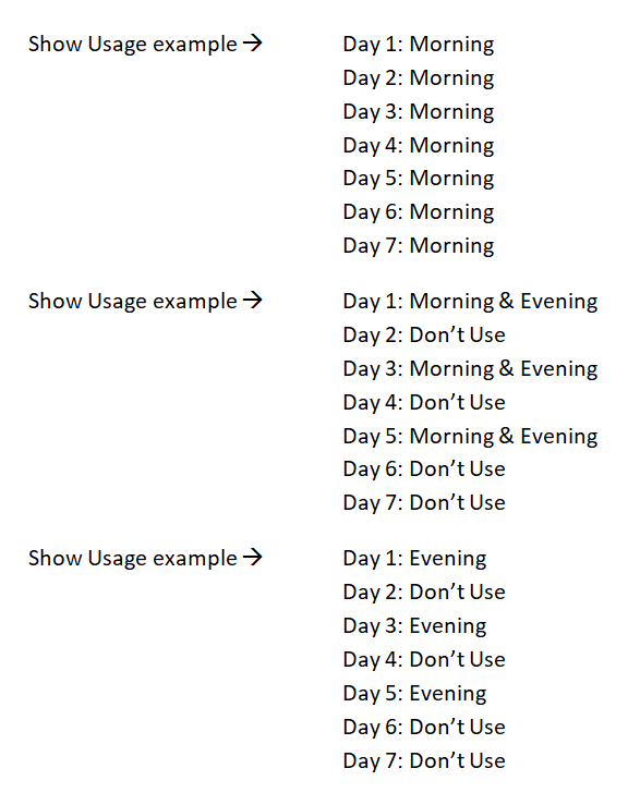 Usage examples for Problem Statement